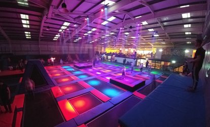 image for Trampoline Jumping Session for One or a Family at Energi Trampoline Park, Preston (Up to 40% Off)