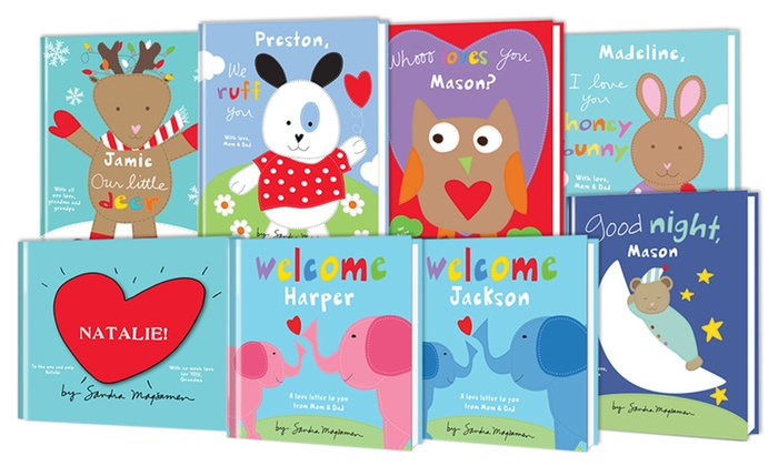 Put Me In The Story: One, Two, Three, or Five Personalized Kids Books from Put Me In The Story (Up to 63% Off)