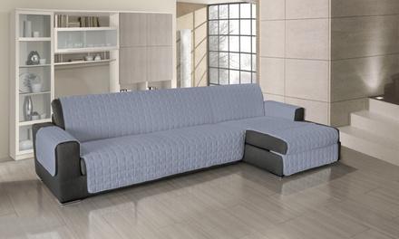 Copridivano universale per divani disponibile in 5 colori con tessuto in 100% cotone