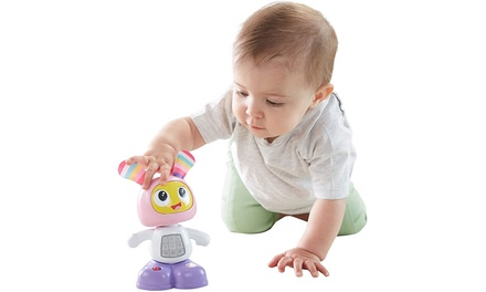 Muñeco interactivo BeatBo con baile y movimiento de Fisher-Price