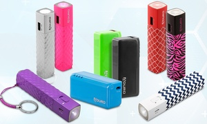 Aduro Facio 2,600mah Backup Battery With Or Without Built-in Flashlight