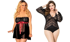 Lingerie sexy grande taille Olympia