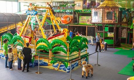 Tageseintritt für Kinder-Spielparadies Monkey Island, Werl für 1 oder 2 Kinder und Erwachsene in Wetter