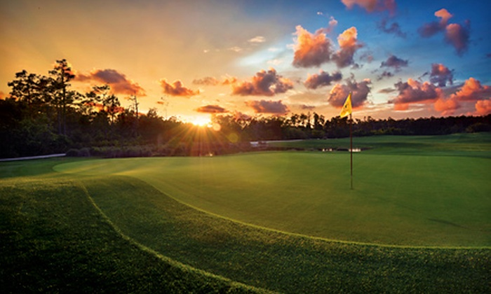 The Legends Golf Course at Orange Lake Resort - Orange Lake Resort: 18 Holes for One or Two Including Cart and Range Balls at The Legends Golf Course at Orange Lake Resort (65% Off)