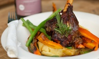 Choice of Mains and Dessert Each from R219 for Two at Peg and Punter (21% Off)