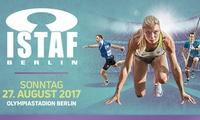 Ticket für das Internationale Stadionfest ISTAF 2017 der Leichtathletik am 27.08. im Olympiastadion (bis zu 50% sparen)