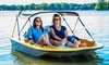 Extreme Water Sports - Truehearts: $35 for One-Hour Go-Float Electric Boat Rental for Up to Three at Extreme Water Sports ($70 Value)