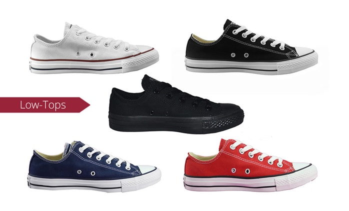 $54 for One Pair of Converse All Star Chuck Taylor Low-Tops or Casual Lace-Ups (Don't Pay up to $100)