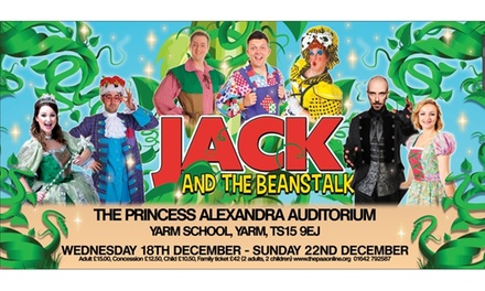 Jack and the Beanstalk Pantomime, 1820 December at The Princess Alexandra Auditorium