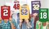 Up to 64% Off Customized Big Name & Number Jersey Sign Cutout