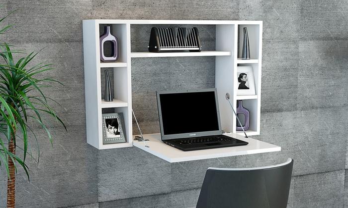 bureau gain de place au choix groupon. Black Bedroom Furniture Sets. Home Design Ideas