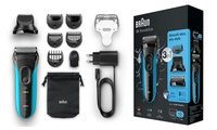 Braun Series 3 3010BT Three-in-One Electric Cordless Beard Trimmer With Free Delivery