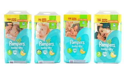 2er-Pack Pampers Baby-Dry in der Größe nach Wahl