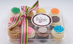 "Polkatots Cupcakes: One Dozen ""Minis"" or ""Biggies"" at Polkatots Cupcakes (Up to 45% Off)"