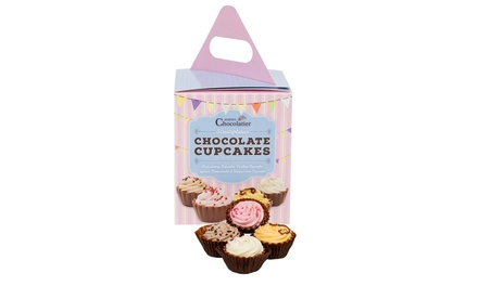 One (£7.99) or Two (£14.99) 12-Piece Chocolate Cupcakes Sets (Up to 25% Off)