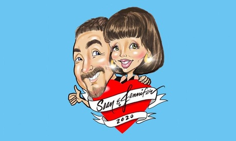 One Digital Caricature from Caricature Entertainment & Art Enterprises (Up to 47% Off). Three Options Available.