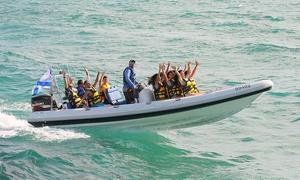 """גלי ים: מרכז התיירות """"גלי ים אכזיב"""" מציע אטרקציה ימית מלאת אדרנלין: שייט בסירת טורנדו ב-69 ₪ בלבד!"""