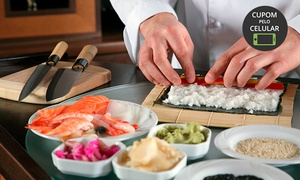 Espaço Gourmet Blue Ville: Aulas de sushi ou risoto para 1 ou 2 pessoas no Espaço Gourmet Blue Ville – Higienópolis