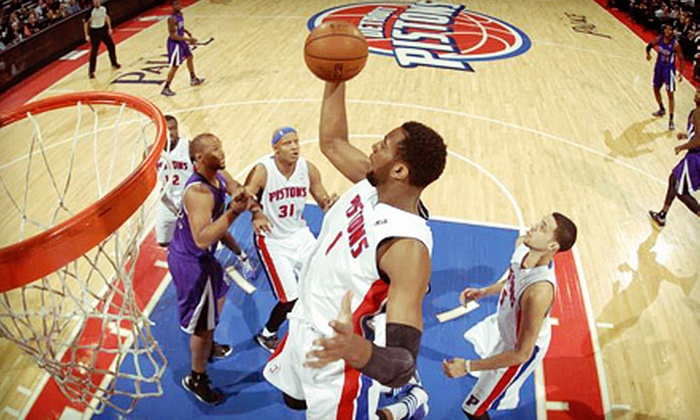Detroit Pistons - The Palace of Auburn Hills: Detroit Pistons NBA Game with Postgame Shot on January 29 at 7:30 p.m. at The Palace of Auburn Hills (Up to 71% Off)