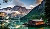 Lago di Braies: camera doppia con mezza pensione e Spa per 2