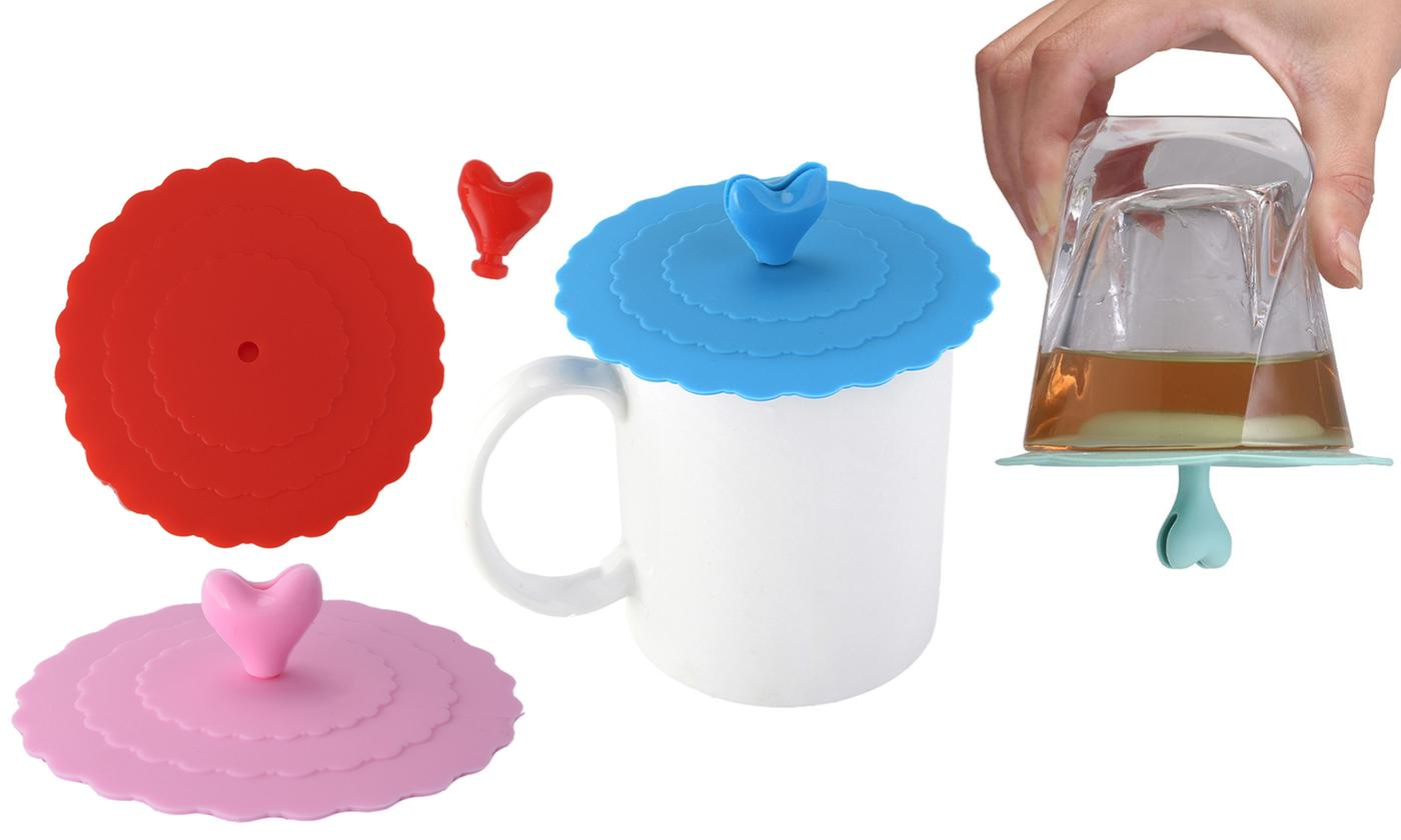One or Two Drink Suction Lids