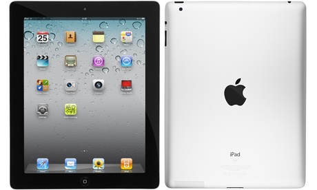 "Apple iPad 2 16GB or 32GB 9.7"" WiFi Tablet with Generic Charging Cable and Power Adapter (Scratch & Dent) a5fa511a-fac5-11e6-8658-00259060b5da"