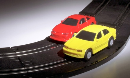 One- or Two-Hour Slot-Car-Racing Party at Fantasy Raceways (Up to 55% Off)