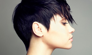 Gem-N-I Creations: Haircut with Optional All-Over Color, or Brazilian Keratin Treatment at Gem-N-I Creations (Up to 57% Off)