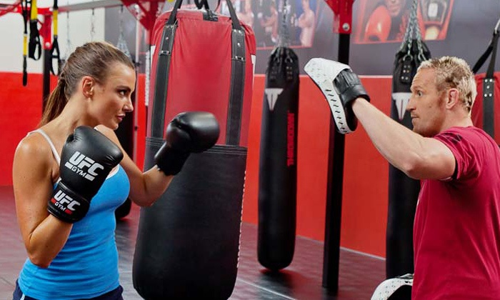 UFC Gym - Walnut Creek - Downtown Walnut Creek: 6 or 12 Boxing and Kickboxing Classes at UFC Gym - Walnut Creek (Up to 80% Off)