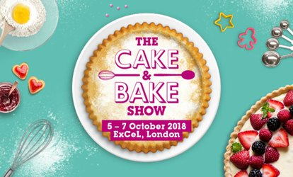 The Cake and Bake Show, 5 - 7 October, ExCeL London (Up to 50% Off)