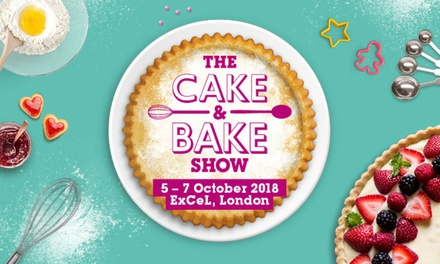 The Cake and Bake Show, 5 7 October, ExCeL London