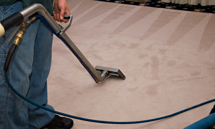 Sparkle the Cleaning Service - Dallas: Carpet Cleaning for One or Up to Three Rooms from Sparkle The Cleaning Service (Up to 53% Off)