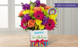 50% Off Flowers and Gifts at FTD.com, plus 9.0% Cash Back from Ebates.