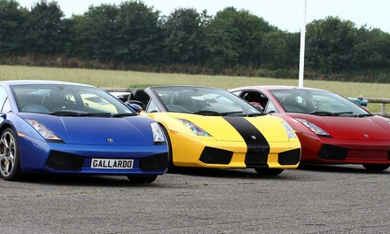 Supercar, Lorry-Driving or Hovercraft Experience at Experience Megastore, Six Locations (Up to 38% Off*) (Essex)