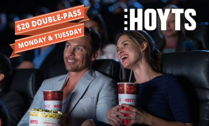 52% Off HOYTS Movie Double Pass