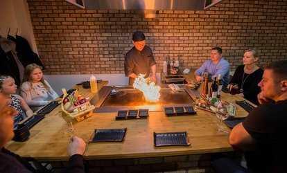 image for Teppanyaki Dining Experience for Up to Four at Sushi City