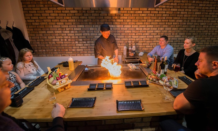 Sushi City - Hornchurch: Teppanyaki Dining Experience for Up to Four at Sushi City