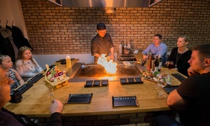 Sushi City: Teppanyaki Dining Experience for Up to Four at Sushi City