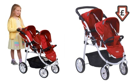 Britax Duo Twin Doll Pram