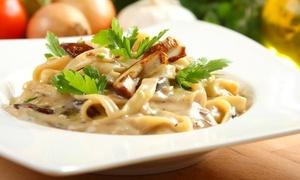 Bazylia & Oregano: Włoska kolacja dla 2 osób za 69,99 zł i więcej opcji w restauracji Bazylia & Oregano na Starówce (do -33%)
