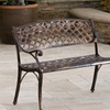 Casablanca Outdoor Cast-Aluminum Bench