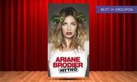 """1 place, catégorie au choix, pour """"Mytho"""" dAriane Brodier le 8 avril 2017 à 20h dès 19 € à La Cigale"""