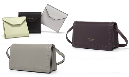 $24 for a Jessie & Jane Wallet or $49 for a Jessie & Jane Clutch Bag