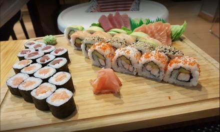 Menú de sushi para 2 personas con 30 o 36 piezas más entrante y bebida desde 19,95 € en My Sushi