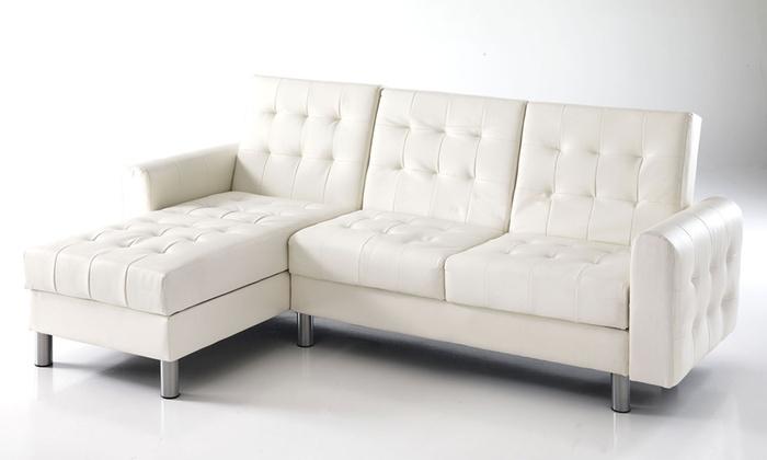 Divano letto con contenitore Pixel by Tomasucci | Groupon Goods