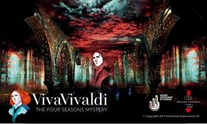 Viva Vivaldi – The Four Seasons Mystery al Museo Diocesanio di Venezia : Viva Vivaldi – Esperienza sensoriale e musicale unica ed innovativa. Fino al 31.12.2017 al Museo Diocesano di Venezia