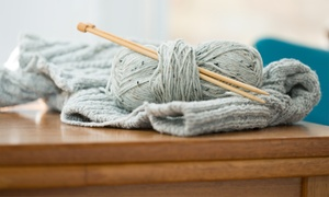 Knitting101.org: $109 for a Half-Day Knitting Summer Camp for One Child at Knitting101.org ($225 Value)