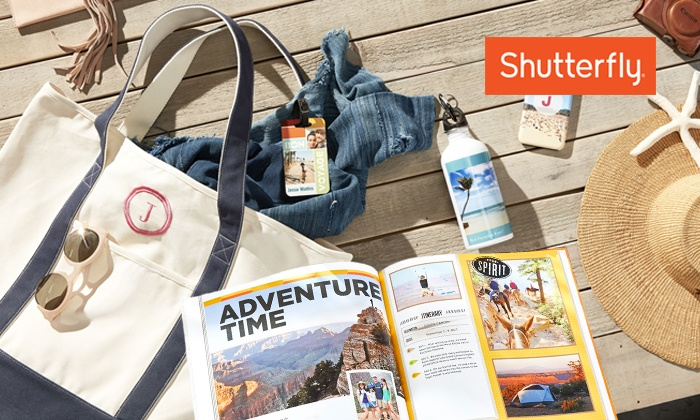 50% Off Custom Photo Products from Shutterfly. Five Options Available.