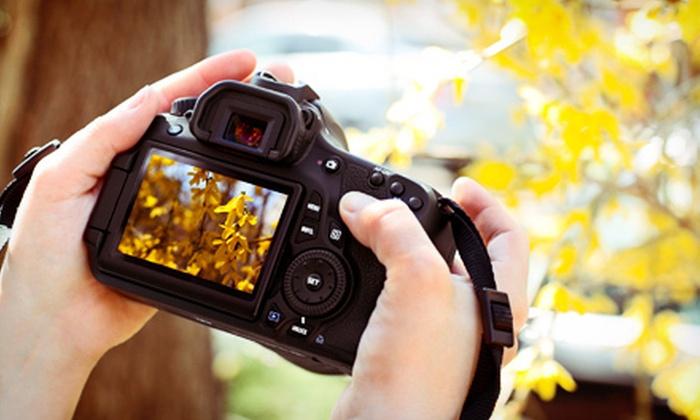 Portfolio Center - Buckhead: $49 for a Three- or Four-Hour Introductory Photography Workshop at Portfolio Center ($100 Value)