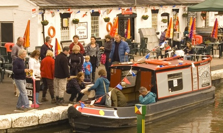 ThreeHour Lunch Cruise with Traditional Fish and Chips for Two or Four at Norbury Wharf